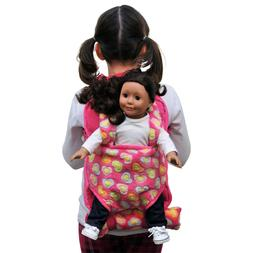 The Queen's Treasures 15Child's Backpack with 18Doll Carrier