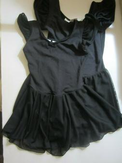 2 pcs CAPEZIO Little Girls Flutter Sleeve Ballet Dance Dress