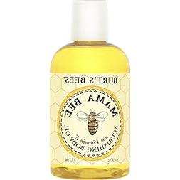 Burt's Bees Mama Bee Body Oil with Vitamin E, 4-Ounce Bottle