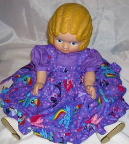 AMERICAN GIRL or DAISY KINGDOM DRESS - MY LITTLE PONY - FOR