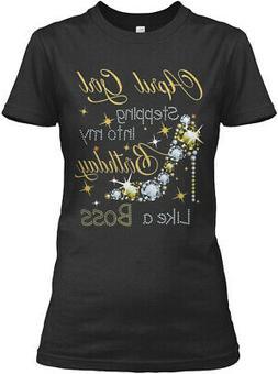 April Girl Stepping Gildan Women's Tee T-Shirt