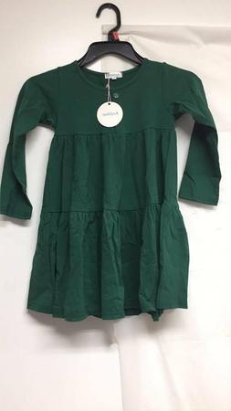 Arshiner Little Girls Long Sleeve/Short Sleeve Dress Solid C