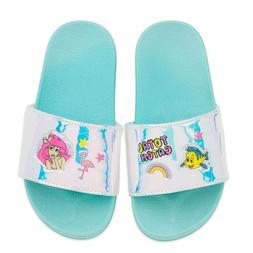 Disney Authentic Little Mermaid Ariel Princess Slides Girls