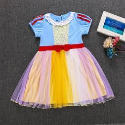 Baby Girls Princess Snow White Dress Costumes for Baby Girls