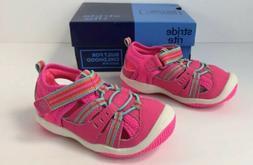 Stride Rite Baby Petra Pink Multi Toddler Girls Size 6 W Ten