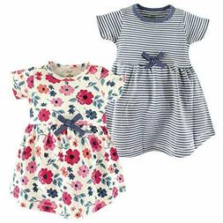 Touched by Nature Baby Toddler Girls' Organic Cotton Short S