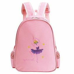 BAOHULU Toddler Backpack Ballet Dance Bag 9 Colors for Girls