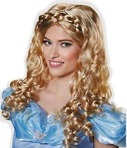 Beautiful Blond Sparkly Princess Wig for Adult Little Girl S
