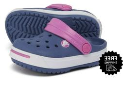 Crocs Big Girls' Classic Clogs Sandals Shoes Crocband ii Pur