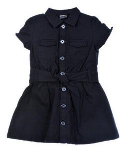 "French Toast Big Girls' ""Safari Classic"" Belted Dress"