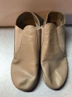 Capezio CG05  Jazz Leather Shoe Caramel Black