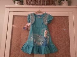 Childrens Frozen Dress for Toddler Girls Size 2T Color Blue
