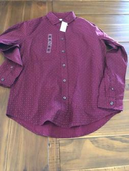 Children's Place Long Sleeve Dress Shirt Size 16