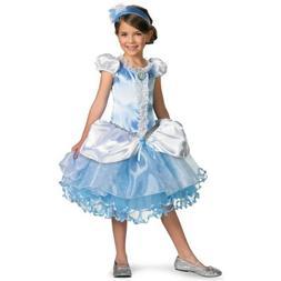 Cinderella Costume for Girls Kids Disney Princess Halloween