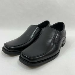 Conal Shoes Kids Leather Lining Size 1 Dressy Shoes Black