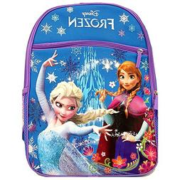 "Disney Frozen Princess Elsa & Anna 16"" Backpack with 1 Large"