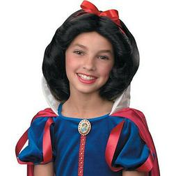 Disney Princess Snow White Child Costume Wig Disguise 90364