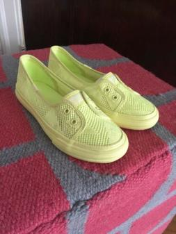 Keds Double Up Shortie in citron Girls Size 2.5 M May Fit 3