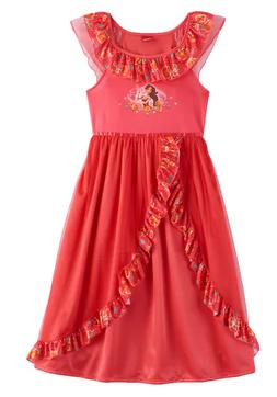 Elena of Avalor Girls Fantasy Gown Nightgown Disney Free Shi