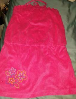 American Girl FLORAL SWIM DRESS Girls Size S NEW