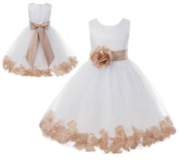 Flower Girl Dress Wedding Dress Birthday Dress Pageant Dress