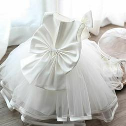 Flower Girls Formal Dress Christening Baptism Wedding First
