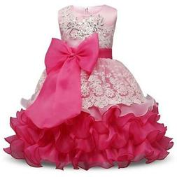 Girl Dress For Wedding Birthday Kids Party Wear Brand Toddle