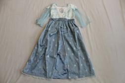 Disney Girl's Frozen Elsa Costume Dress AB3 Blue Size 5/6 NW