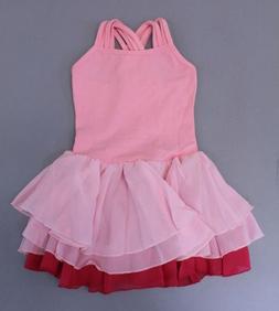 Arshiner Girl's Solid Sleeveless Square Neck Skater Dress SH