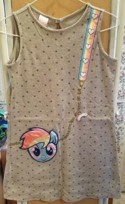 Girls 10/12 My Little Pony Jumper Dress NEW Size Large