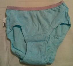 Fruit Of The Loom Girls 4T/5T Teal Panties NWT