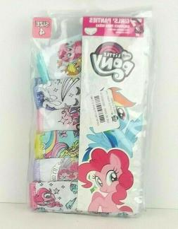 Girls' My Little Pony 6-Pack Assorted Underwear Size Small