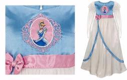 Disney Store Girls Deluxe Cinderella Silky Nightgown Night g