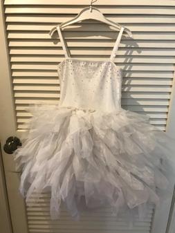 Girls dresses, size 6-7, white dress, flower girl dress, ooh
