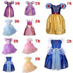Girls Fairytale Princess Dress Kids Fancy Costume Party Dres
