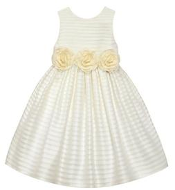 Girls AMERICAN PRINCESS ivory dress 2T 4T 7 NWT Easter flowe