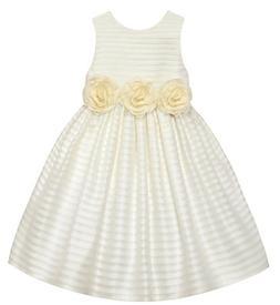 Girls AMERICAN PRINCESS ivory dress 2T 4T 7 NWT Easter flowe