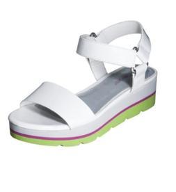 Cherokee Girls Kids Gracia Platform Sandals, White - Pink &