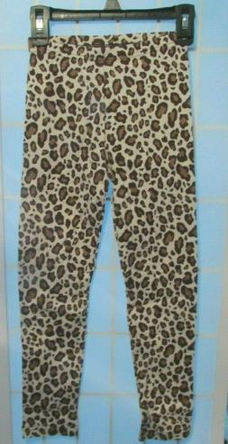 Gymboree Girls Leopard Print Leggings NWT Size 7