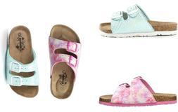 Northside Girls Little/Big Kids Mariani Sandals Comfort Summ