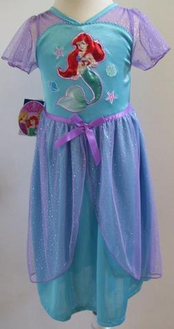 Girls Disney Princess Little Mermaid Nightgown Sz 2T NWT
