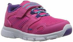 Stride Rite Girls' Made 2 Play Taylor Sneaker, Pink, 2.5 W U