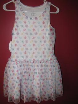 Girls Disney Parks Princess Print Dress Size XL NWT