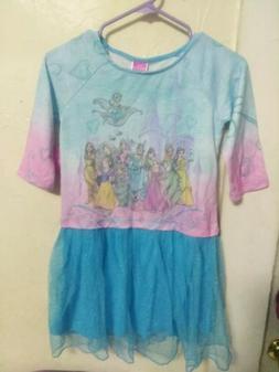 Girls Disney Princess Tutu Dress Size Large 10/12