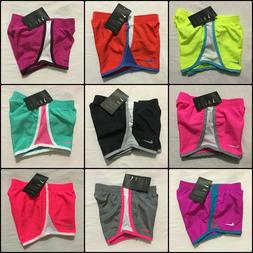 Nike Girls Shorts Size 2T, 3T, 4T Blue, Pink, Black Athletic