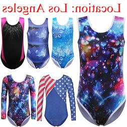 Gymnastics Leotards for Girls Outfit Athletic Dance Clothes