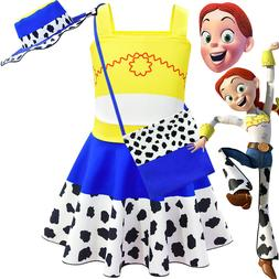 Halloween New Children's Dress Toy Story 4 Cui Si Dress Girl