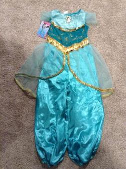 Halloween Disney Prestige Jasmine Jumpsuit Dress Up Costume