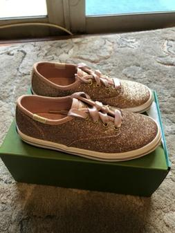 Keds &kate Spade Shoes Toddler Girl Size 10M Gold Glitter