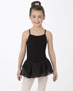 Capezio Kids Cami Tutu Dress Girl's sz  M  Black   #7620